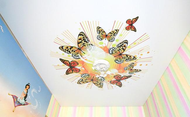 Дизайн потолков для детской в Тамбове