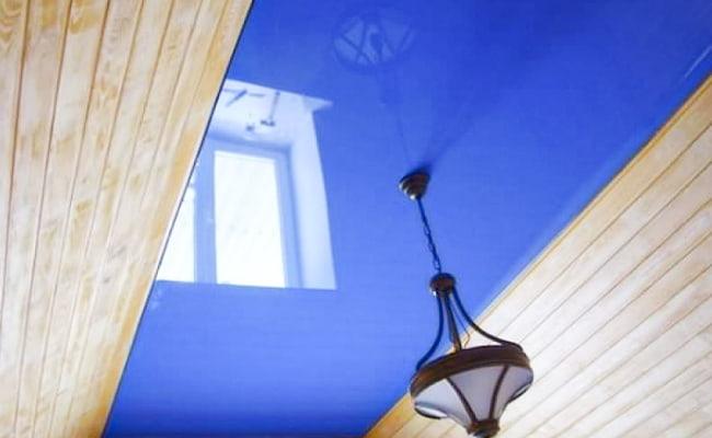 Заказать натяжной потолок для коттеджа или частного дома в Казани