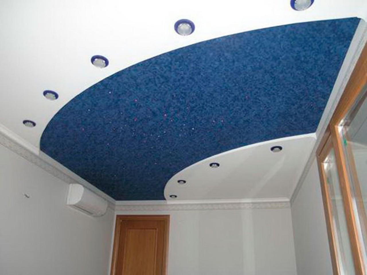 Из чего сделаны тканевые потолки